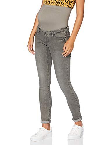 Supermom Damen OTB Skinny Grey Jeans, Denim-P328, 28