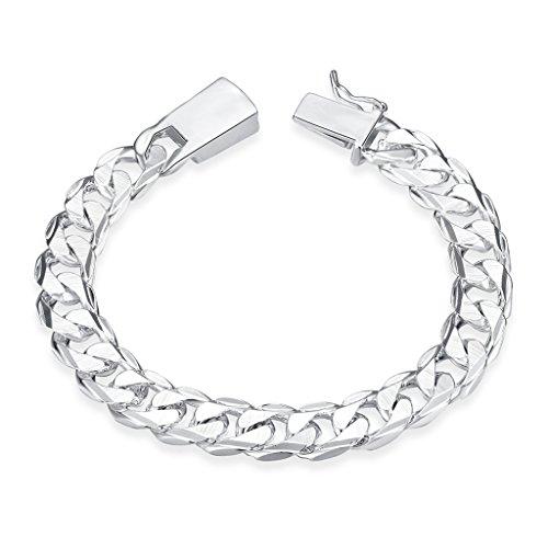 NYKKOLA Hot Classic massiv 925 Silber Jewelry Armband für Damen und Herren