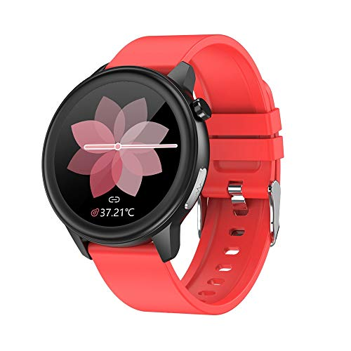 LHTCZZB Pulsera inteligente de alta precisión Reloj de pantalla táctil completa Bluetooth Fitness Tracker Monitoreo de ritmo cardíaco Modo deportivo Modo de deporte Batería larga batería Batería adecu