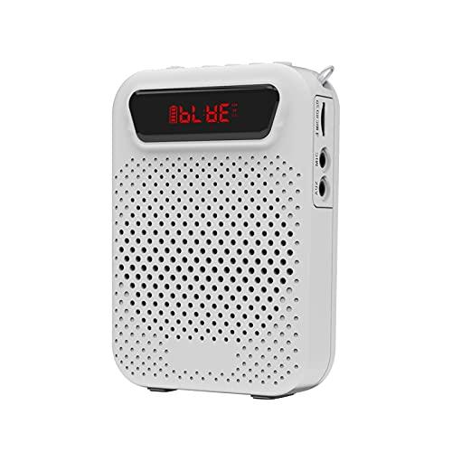 haut-parleurs bluetooth portables Amplificateur vocal portable 5W mini haut-parleur portable stéréo sonore câblé par haut-parline de microphone pour enseignants et discours de fête haut-parleurs bluet