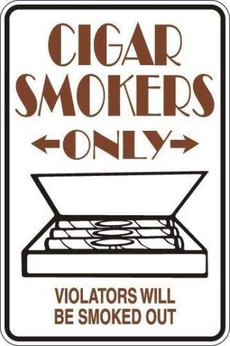 Rebecca Simpson *Aluminum* Cigar Smokers Only 8