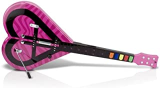 Wii Aly & AJ Heart Shape Guitar for Rock Band