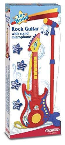 Bontempi 24 7020 Gitarre Mikrofon, Mehrfarben