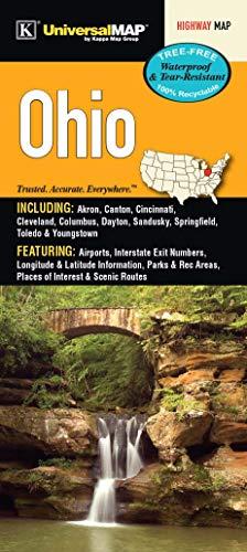 Ohio State Waterproof Map