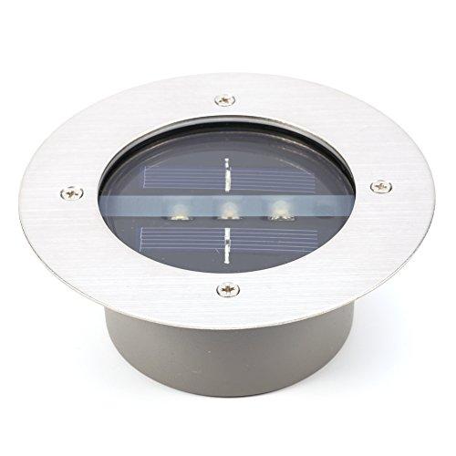 Niet licht hoofdverlichting ondervloerverlichting op zonne-energie grondverlichting tuin lamp voor plafonds van het Engelse gazon straat tuin