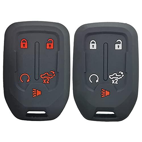 2Pcs Coolbestda Compatible with 2021 2020 2019 Chevy Chevrolet Silverado Case Protector