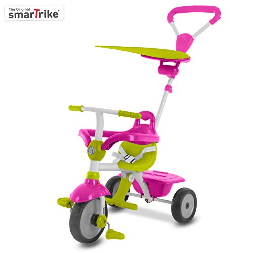 smarTrike 618-0200 - Triciclo 3 in 1 Touch Steering in metallo