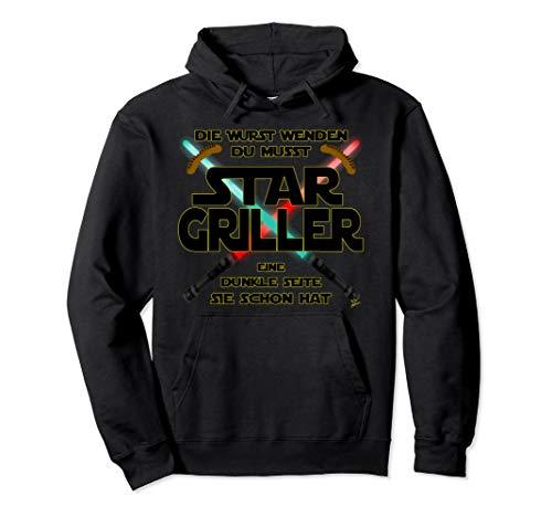 Star Griller wurst - Grill Geschenk für männer Grillschürze Pullover Hoodie