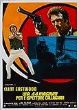 Magnum Force – Clint Eastwood – Italienisch Film Poster