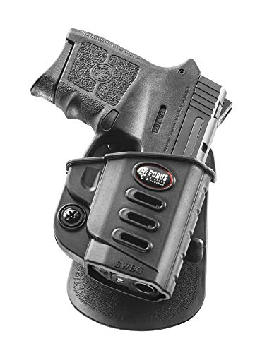 Fobus SWBG Evolution Holster for Smith & Wesson M&P Bodyguard .380 Crimson Trace Integrated Red Laser, Right Hand Paddle