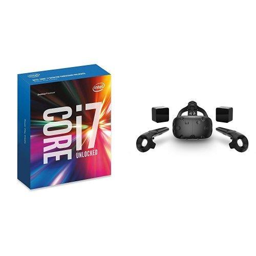 Intel Boxed Core i7-6800K Processor & HTC VIVE Virtual Reality System Bundle