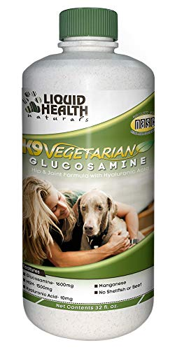 K9 Vegetarian Glucosamine (formerly K9 Glucosamine & HA) by Liquid Health - 32 oz.