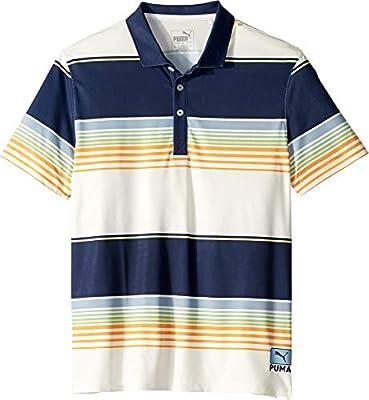 PUMA Golf Kids Boy's Pipeline Polo (Big Kids) Peacoat LG (14-16 Big Kids)