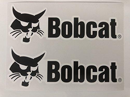 SBD Decals 2 Bobcat Logo Big B Nome Stickers