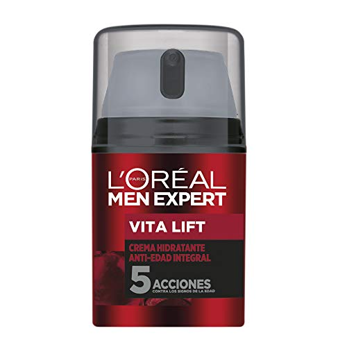 L'Oréal Paris Men Expert Integral Vita Lift Hidratante diario anti-edad, 50 ml