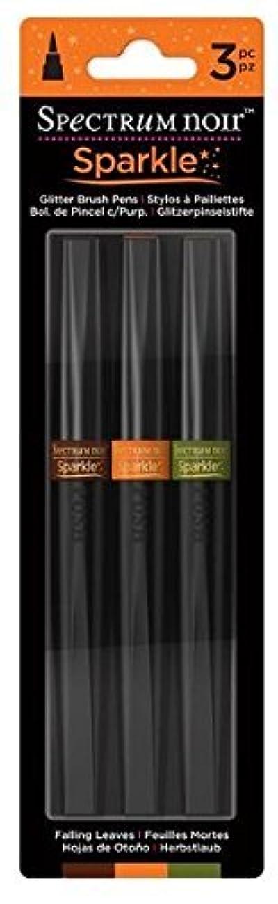 Spectrum Noir Sparkle 3 PC Glitter Brush Pen Falling Leaves
