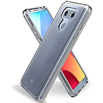 Jeylly Crystal Clear Case Compatible with LG G6 Case LG G6 Plus Slim Case Anti-Scratch Shockproof TPU Grip Bumper Slim Fit Thin Protective Cover Cases for LG G6 / LG G6 Plus 2017 -  HD Clear