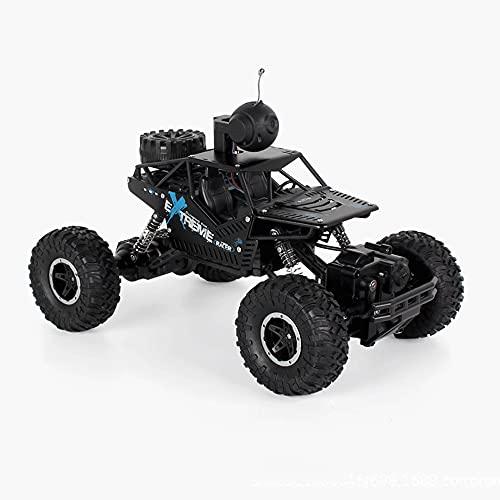 KGUANG Cámara FPV Video RC Car 4WD Aleación Off-Road Control de teléfono móvil 2.4G Buggy Remoto Juguetes para niños y niñas Vehículo de Carreras Cumpleaños Camión