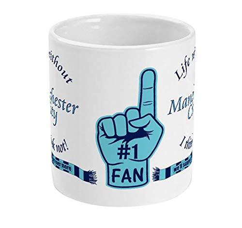 magnetsandhangers Manchester City Kaffeetasse, 325 ml, Geschenk für Fußballfans