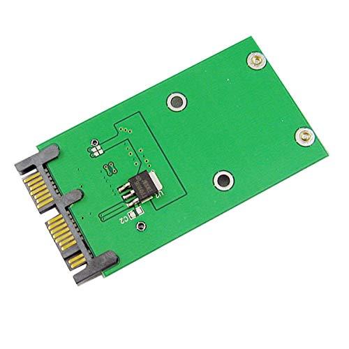 """CY Mini PCI-E mSATA SSD a 1.8 """"Micro SATA 7+9 16pin adaptador añadir tarjetas PCBA para disco duro SSD"""