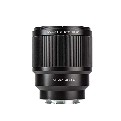 VILTROX New Version 85mm F1.8 II STM Autofocus Large Aperture Full-Frame Portrait Lens Compatible with Sony E-Mount Cameras A7Ⅲ a7RⅢ a9 a7SⅡ a7RⅡ a7Ⅱ a7S a7 a7R a6400 a6500 with Pergear Dust Blaster