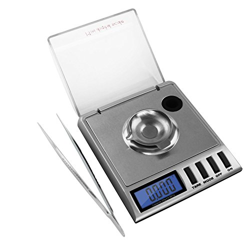 NEEVAS High Precision Digital Milligram Scale 20 x 0001g Reloading Jewelry and Gems Scale