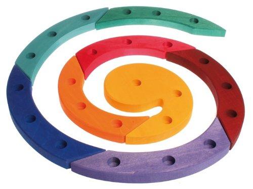 Grimm's 03210 Verjaardagsspiraal kleurrijk lindehout