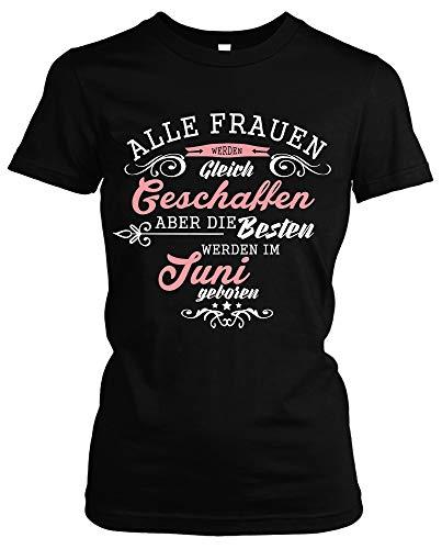 Geboren in dames Girlie T-shirt | elke 12 maanden verkrijgbaar! Jubileum verjaardag verjaardagscadeau verjaardagsshirt