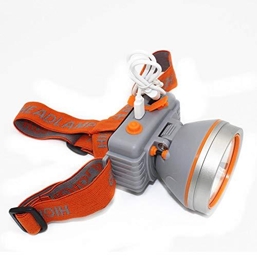 VESIFA LED Waterproof Scheinwerfer kann über USB geladen Werden, Outdoor Starke leichte tragbare Miner's Lampe hat eingebaute Batterie