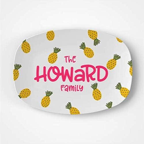 Colorado Springs Mall NEW Pineapple Platter Summer Personalized Gift Mi Fun Idea