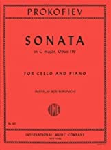 Prokofiev, Serge - Sonata In C Major, Op. 119. For Cello. Edited by Rostropovich. by International