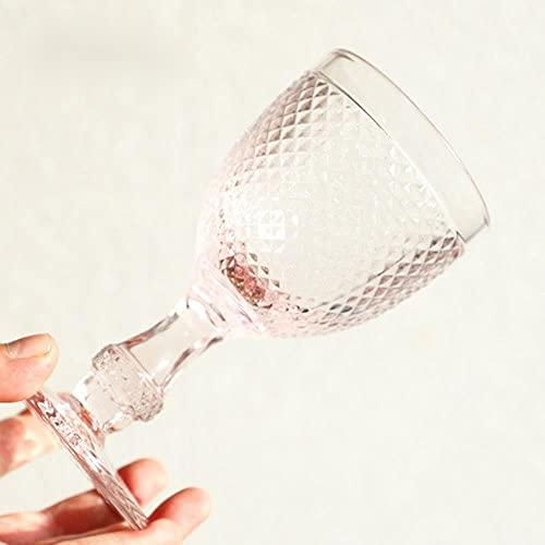Copas Vasos Cóctel Copa De Vino Festiva De Vacaciones 200-300Ml Copa Decorativa De Boda Copa Rosa Whisky Brandy Floating Point Barware Set