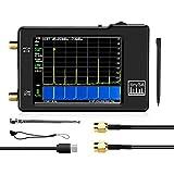 Nrpfell Analizzatore di Spettro TinySA, Ingresso UHF MF/HF/VHF da 100 KHz a 960 MHz, Generatore di Segnale con Batteria con Schermo a Contatto da 2,8 Pollici