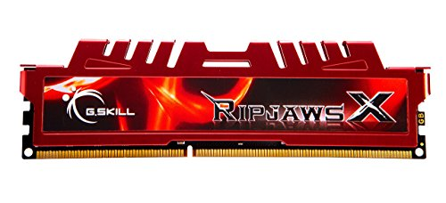 G.Skill 8GB (1 x 8GB) DDR3 PC3-12800 RipjawsX Series (10-10-10-30) Single module (F3-12800CL10S-8GBXL)