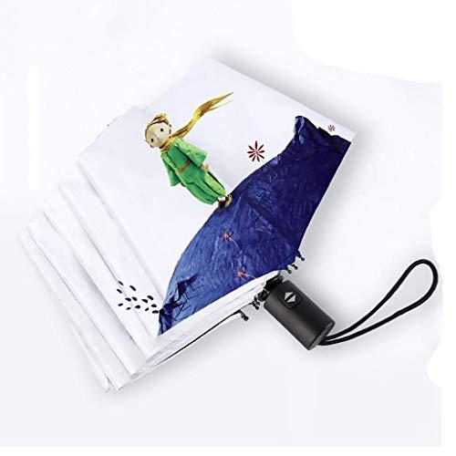3 Regenschirm Reiseschirm SonneSchutz und UV-Schutz Portable Compact Foldable Lightweight Design und hohe Windresistenz (Größe: 97cm)
