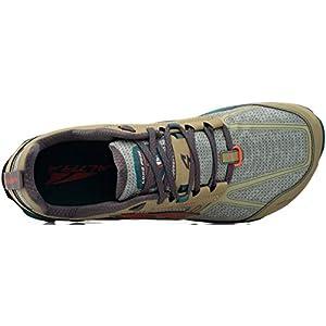 ALTRA Men's Lone Peak 4 Low RSM Waterproof Trail Running Shoe, Green - 11 D(M) US
