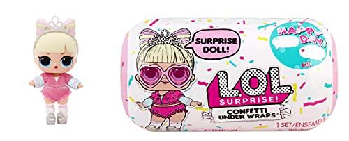L.O.L. Surprise!- Confetti Under Wrap - Muñeca de colección con 15 sorpresas, Ropa y Accesorios de Moda - Serie 2 niños a Partir de 3 años, Color (576440C3)