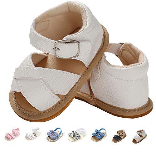 Baby Girls Sandals Rubber Sole Outdoor