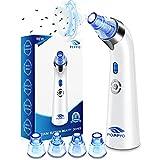 Blackhead Remover Vacuum, POPPYO Blackhead Pore Vacuum, Electric Facial Blackhead & Blemish Removers Cleaner, Blackhead Vacuum for Women