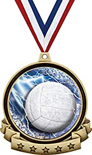Volleyball Medals - 2.5