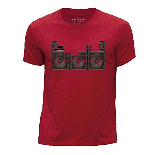 Stuff4 Jongens T-Shirt/Equalizer/Speaker Monitor/Ronde hals Casual Korte mouw 100% Organisch Katoen