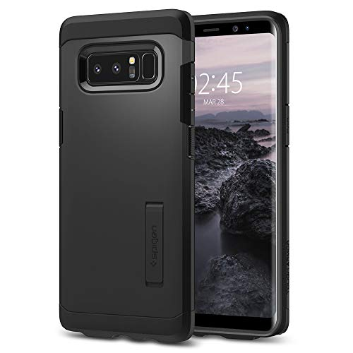 Spigen, Tough Armor, Samsung Galaxy Note 8 Hülle (587CS22079) Stoßabweisende Doppelte Schutzschicht Extrem Fallschutz Schutzhülle Case (Schwarz)