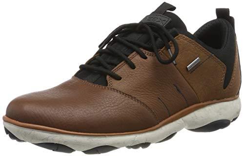 Geox Herren U Nebula 4 X 4 B ABX A Sneaker, Braun (Browncotto C6003), 39 EU