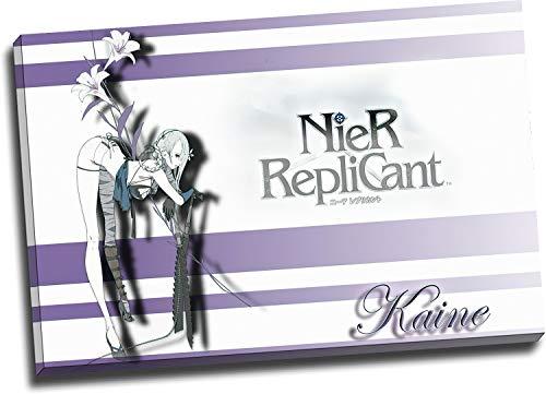 Trelemek Nier Replicant - Lienzo decorativo para pared (61 x 40,6 cm), diseño de videojuegos, listo para colgar