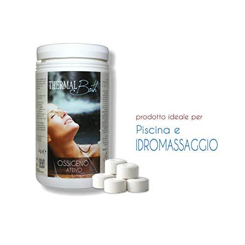 Oxígeno activo (Pastillas de 20gr–Thermal Bath oxígeno A. 1kg.–Envío immediata