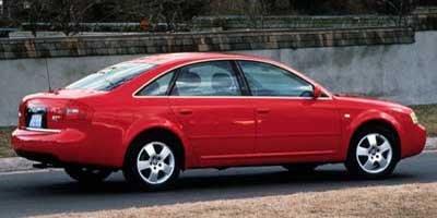 2000 Audi A6 Quattro, 4-Door Sedan Quattro All Wheel Drive 6-spd ...