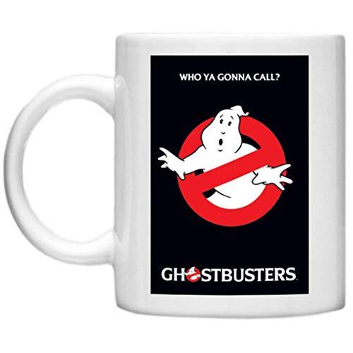 GPO Group Ghostbusters-Becher, Marshmallow Man, Slimer, Ghostbusters-inspiriert, mikrowellen- und spülmaschinenfest, 325 ml