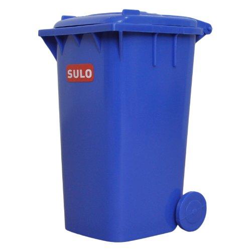 Mini-Müllbehälter 120 l - kleine Ausführung blau