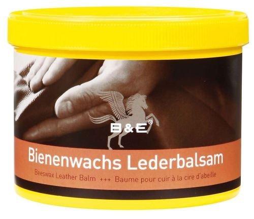 Bienenwachs-Lederpflege-Balsam 500 ml Bundle incl. 2 Carmesin.com PUTZTÜCHER