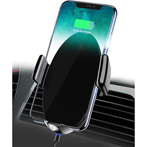 Gymy Cargador inalámbrico del teléfono móvil de la recreación del coche